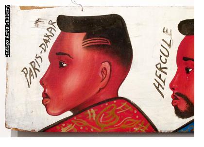 Hercule Hairdresser's Sign