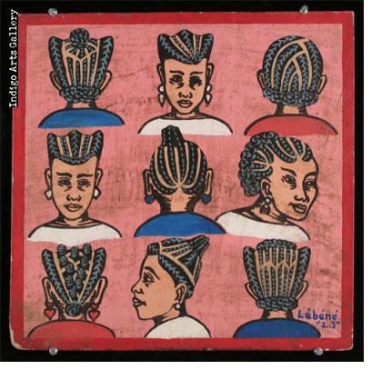 Hair-braiding Sign