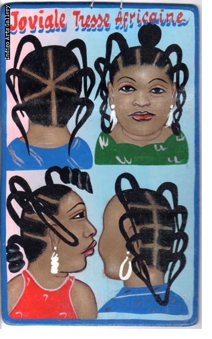 Joviale Tresse Africaine - Mini Hair Sign