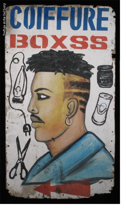 Coiffure BOXSS Barber's Sign