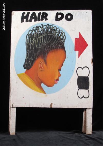HAIR DO Sandwich board-style Hairdresser Sign