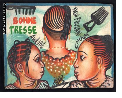 Bonne Tresse Hairdresser's Sign
