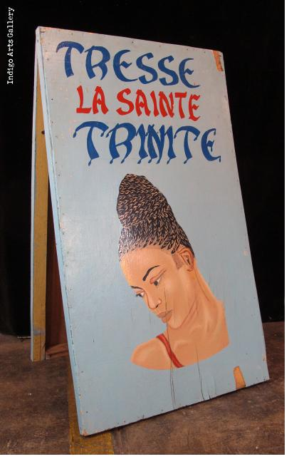 TRESSE LA SAINTE TRINITE - Hairdresser's Sign