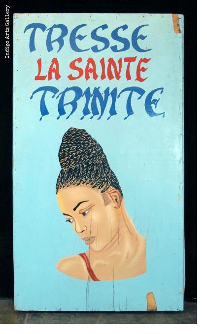 TRESSE LA SAINTE TRINITE - Hairdresser's Sign
