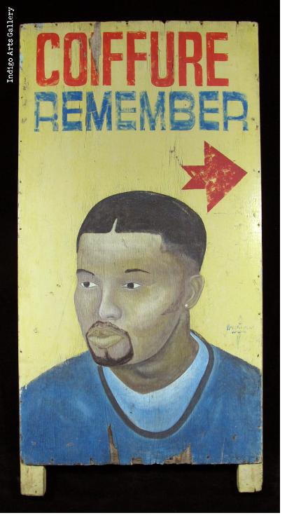 COIFFURE REMEMBER - Hair Sign (Panel 1)