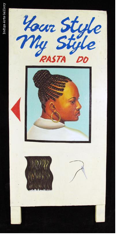 Your Style My Style RASTA DO - Hair Sign