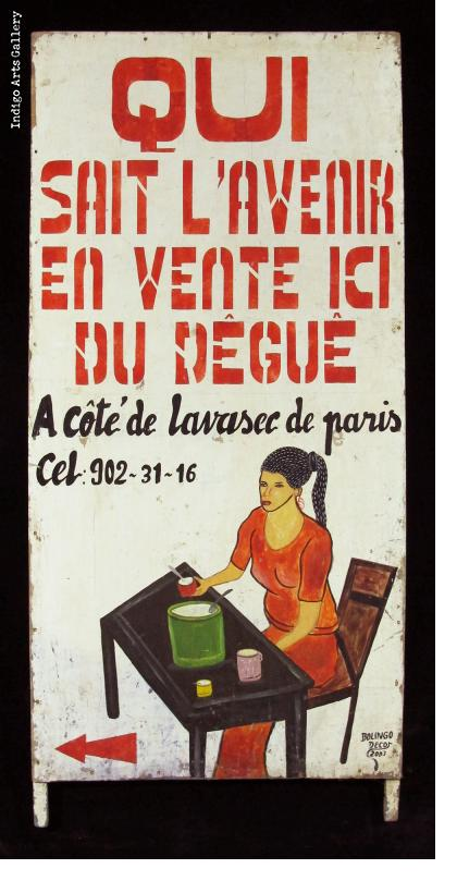 QUI SAIT L'AVENIR EN VENTE ICI DU DEGUE - Trade Sign
