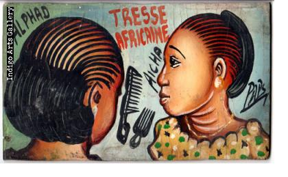 Tresse Africaine Hairdresser's Sign