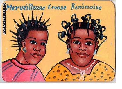 """Merveilleuse tresse Beninoise"" Hair Sign"