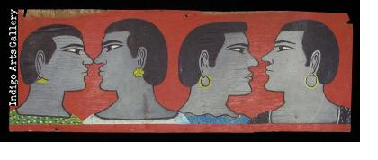 Four Strong Women - Hair Sign from Burkina Faso