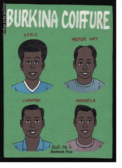 Burkina Coiffure - Mini Signboard