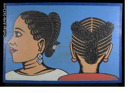 Hair-braider's Sign