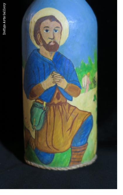 Papa Zaka/St. Isidore - Vodou Bottle