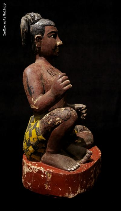 Seated Burmese Figure