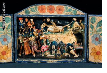 Day of the Dead Retablo