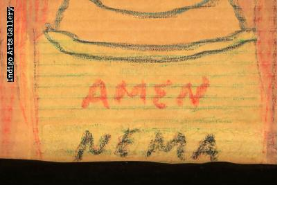 Amen Nema - Portrait of Woman