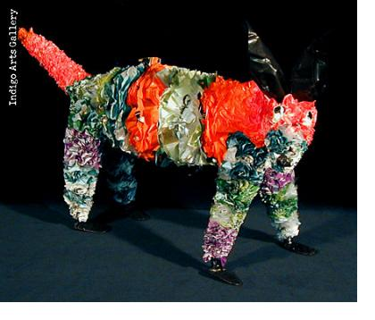 Recycled Plastic Bag Dog