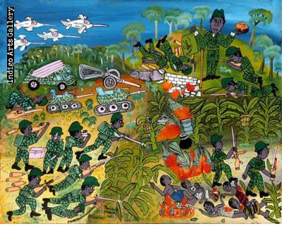 Tanzania Uganda War (War in Uganda)
