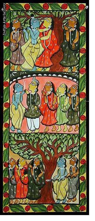 Tales of Lord Krishna and the Gopis