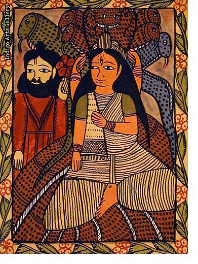 The Snake Goddess Manasa