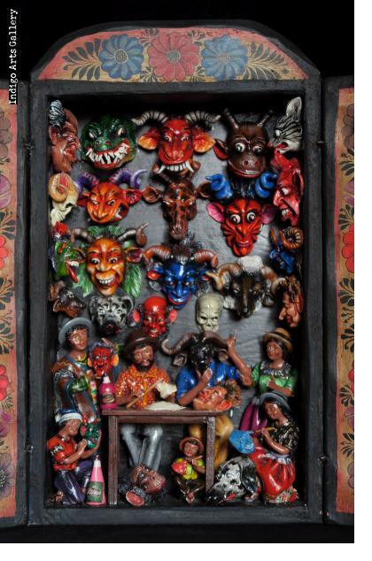 Mask Shop Retablo (version 11)