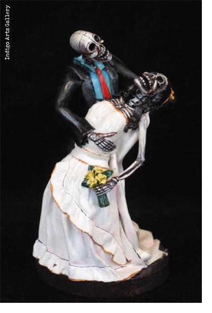 Novios Muertos - Retablo figures