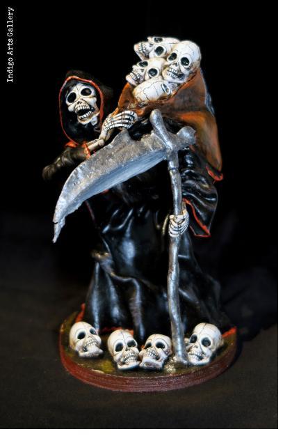 Grim Reaper - Retablo figure