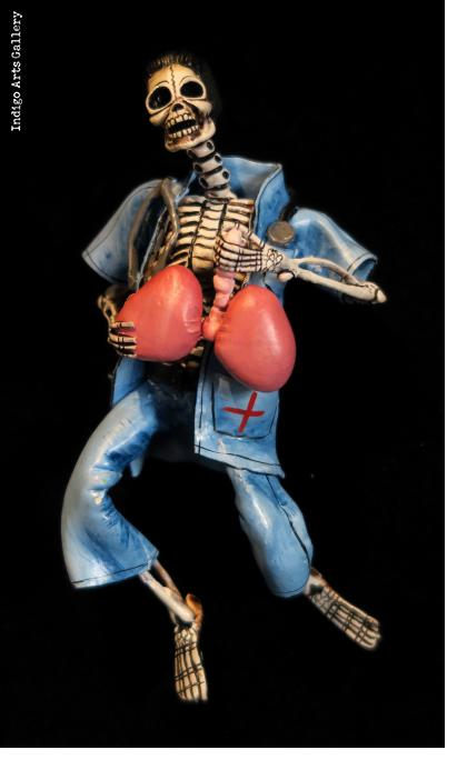 Transplant Surgeon of the Dead - retablo figure