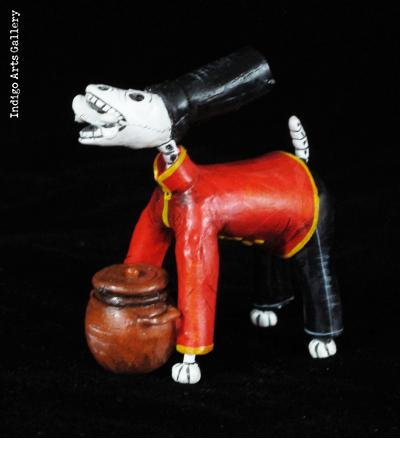 Soup-Chef Dog of the Dead - Retablo Figure