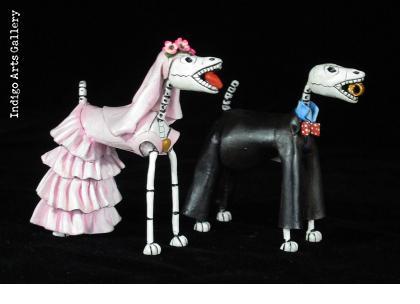 Boda de los Perros Muertos - Retablo Figures