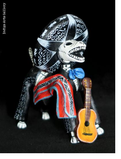 Mariachi Dog of the Dead