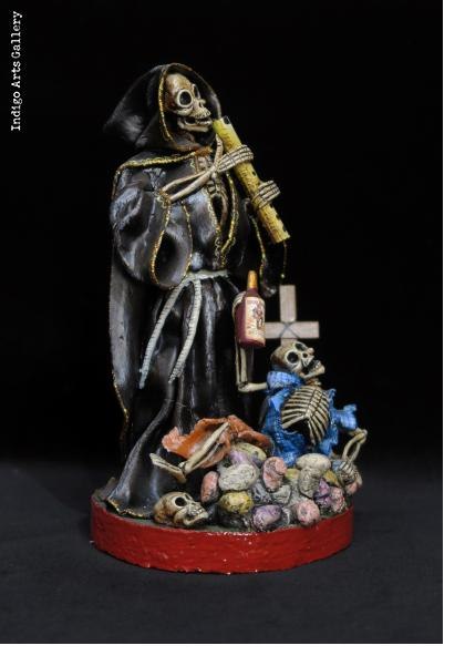 The Grim Reaper - Calavera Sculpture