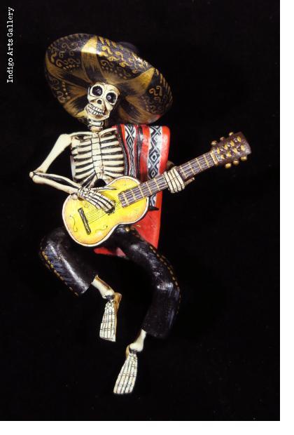 Mariachi de la Muerte - Retablo Ornament