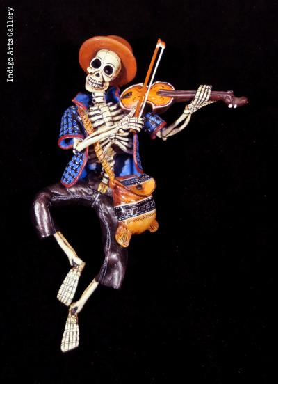 Fiddler of the Dead - Retablo Figure