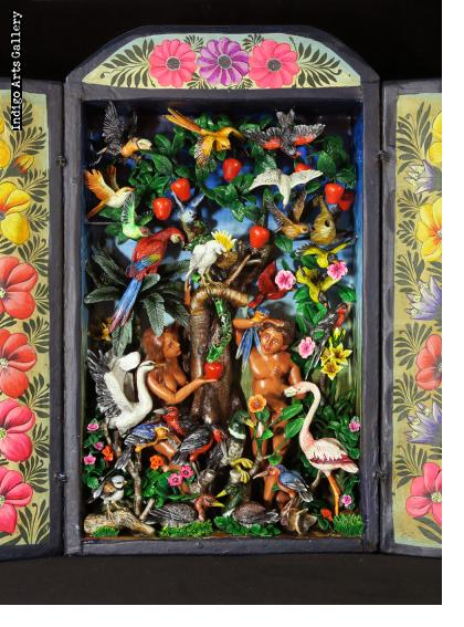 Garden of Eden - Retablo (version 3)