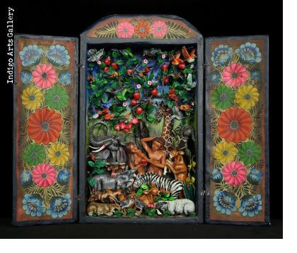 Garden of Eden - Retablo (version 3)