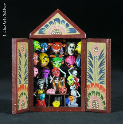 Mask Shop of the Dead - Mini-Retablo