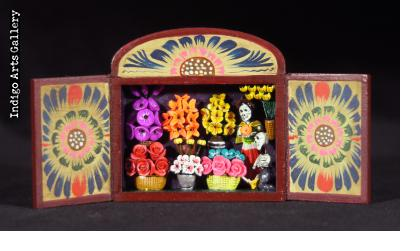Flower Shop of the Dead - Mini-Retablo