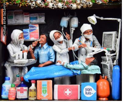 Covid 19 Pandemic in Peru -  Retablo