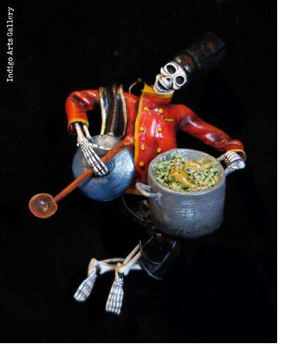 Soup Nazi of the Dead - retablo figure