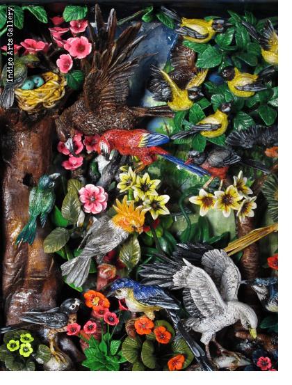 Birds of Paradise - Retablo