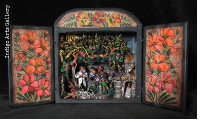 The Brutality of Civil War - Retablo