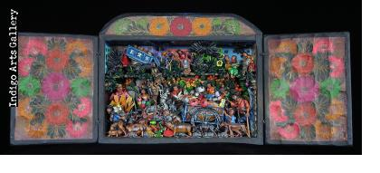 """Los Recicladores"" or How the Other Half Live - Retablo"