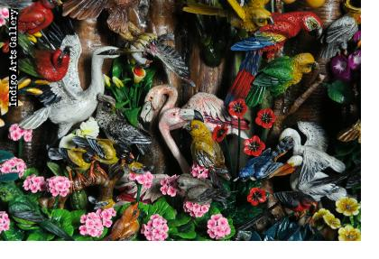 Birds of Paradise - Retablo (Extra Large)