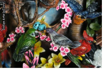 Birds of Paradise - Retablo (Extra Large)