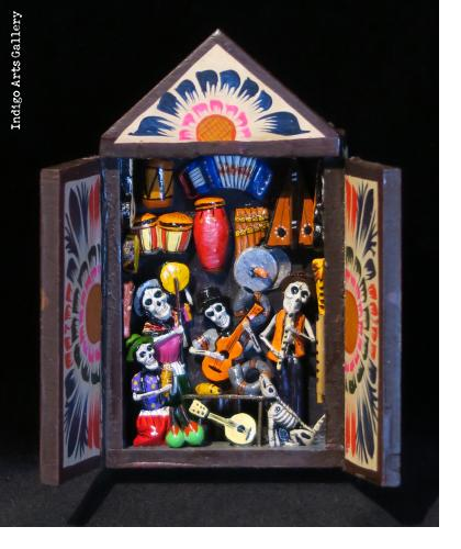 Music Shop of the Dead - Mini-Retablo
