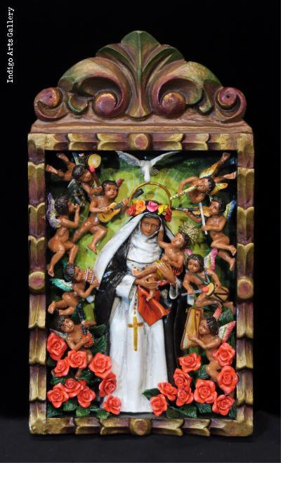 Santa Rosa de Lima - Retablo