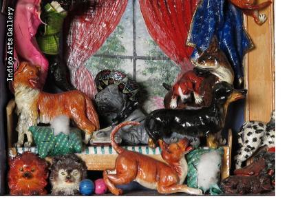 La Casa de los Perros (House of Dogs) Retablo