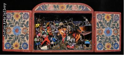 Day of the Dead Retablo - Version 11