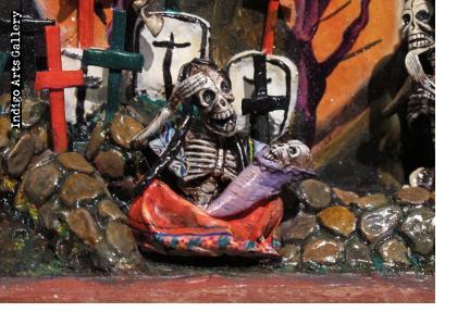Day of the Dead Retablo - Version 11